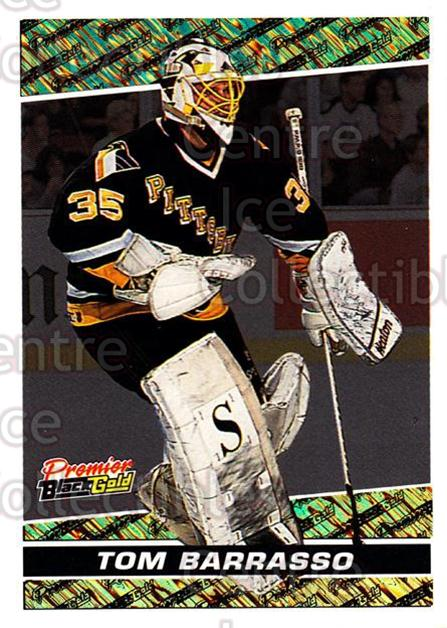 1993-94 Topps Premier Black Gold #11 Tom Barrasso<br/>9 In Stock - $2.00 each - <a href=https://centericecollectibles.foxycart.com/cart?name=1993-94%20Topps%20Premier%20Black%20Gold%20%2311%20Tom%20Barrasso...&price=$2.00&code=3911 class=foxycart> Buy it now! </a>