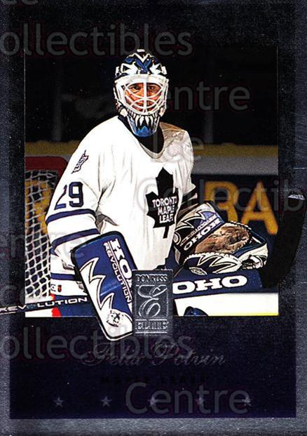 1995-96 Donruss Elite #97 Felix Potvin<br/>4 In Stock - $1.00 each - <a href=https://centericecollectibles.foxycart.com/cart?name=1995-96%20Donruss%20Elite%20%2397%20Felix%20Potvin...&quantity_max=4&price=$1.00&code=39177 class=foxycart> Buy it now! </a>