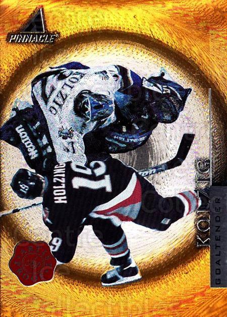 1997-98 Pinnacle Artists Proofs #89 Olaf Kolzig<br/>1 In Stock - $5.00 each - <a href=https://centericecollectibles.foxycart.com/cart?name=1997-98%20Pinnacle%20Artists%20Proofs%20%2389%20Olaf%20Kolzig...&quantity_max=1&price=$5.00&code=391782 class=foxycart> Buy it now! </a>