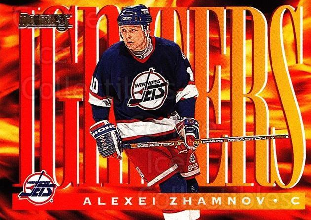 1995-96 Donruss Igniters #6 Alexei Zhamnov<br/>1 In Stock - $5.00 each - <a href=https://centericecollectibles.foxycart.com/cart?name=1995-96%20Donruss%20Igniters%20%236%20Alexei%20Zhamnov...&price=$5.00&code=39186 class=foxycart> Buy it now! </a>