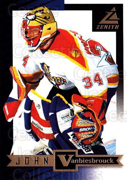 1997-98 Zenith #9 John Vanbiesbrouck<br/>7 In Stock - $1.00 each - <a href=https://centericecollectibles.foxycart.com/cart?name=1997-98%20Zenith%20%239%20John%20Vanbiesbro...&quantity_max=7&price=$1.00&code=392228 class=foxycart> Buy it now! </a>