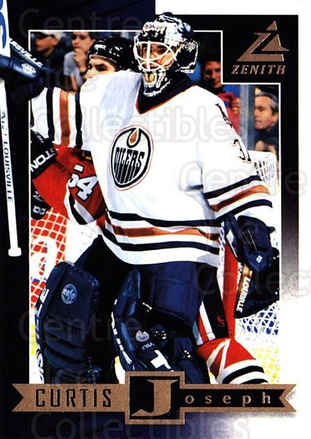 1997-98 Zenith #17 Curtis Joseph<br/>7 In Stock - $1.00 each - <a href=https://centericecollectibles.foxycart.com/cart?name=1997-98%20Zenith%20%2317%20Curtis%20Joseph...&quantity_max=7&price=$1.00&code=392236 class=foxycart> Buy it now! </a>