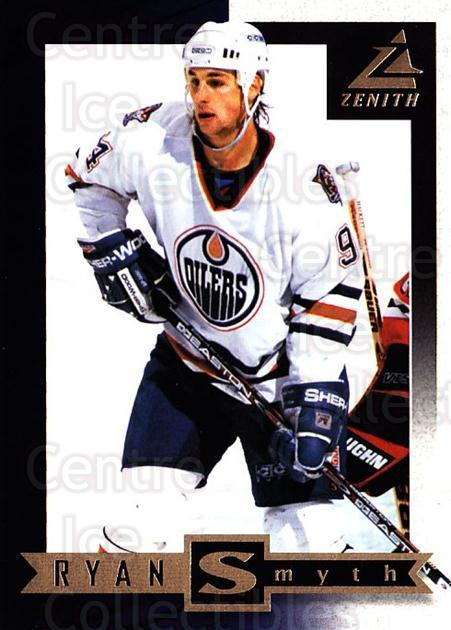 1997-98 Zenith #71 Ryan Smyth<br/>8 In Stock - $1.00 each - <a href=https://centericecollectibles.foxycart.com/cart?name=1997-98%20Zenith%20%2371%20Ryan%20Smyth...&quantity_max=8&price=$1.00&code=392290 class=foxycart> Buy it now! </a>