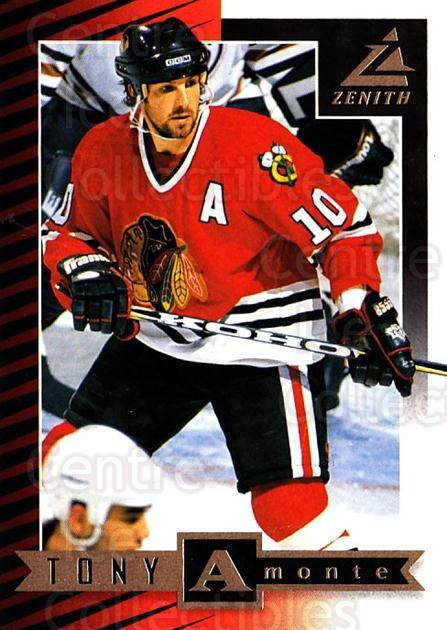 1997-98 Zenith #78 Tony Amonte<br/>8 In Stock - $1.00 each - <a href=https://centericecollectibles.foxycart.com/cart?name=1997-98%20Zenith%20%2378%20Tony%20Amonte...&quantity_max=8&price=$1.00&code=392297 class=foxycart> Buy it now! </a>