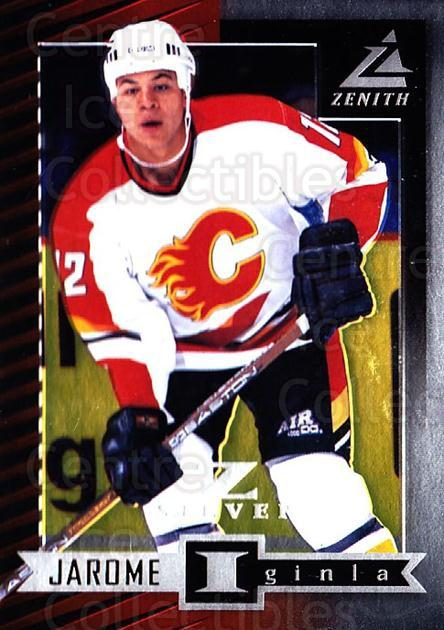 1997-98 Zenith Z-Silver #1 Jarome Iginla<br/>1 In Stock - $5.00 each - <a href=https://centericecollectibles.foxycart.com/cart?name=1997-98%20Zenith%20Z-Silver%20%231%20Jarome%20Iginla...&quantity_max=1&price=$5.00&code=392320 class=foxycart> Buy it now! </a>