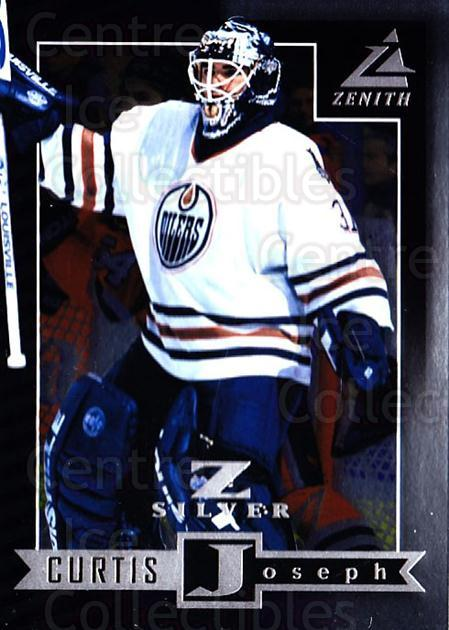 1997-98 Zenith Z-Silver #17 Curtis Joseph<br/>1 In Stock - $3.00 each - <a href=https://centericecollectibles.foxycart.com/cart?name=1997-98%20Zenith%20Z-Silver%20%2317%20Curtis%20Joseph...&quantity_max=1&price=$3.00&code=392336 class=foxycart> Buy it now! </a>