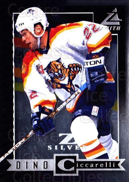 1997-98 Zenith Z-Silver #47 Dino Ciccarelli<br/>3 In Stock - $3.00 each - <a href=https://centericecollectibles.foxycart.com/cart?name=1997-98%20Zenith%20Z-Silver%20%2347%20Dino%20Ciccarelli...&quantity_max=3&price=$3.00&code=392366 class=foxycart> Buy it now! </a>