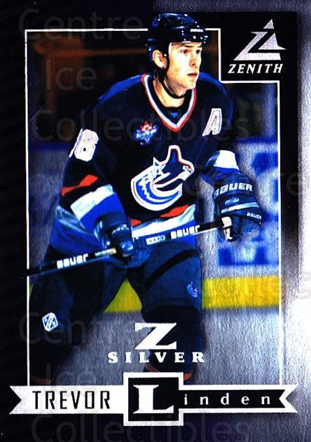1997-98 Zenith Z-Silver #73 Trevor Linden<br/>3 In Stock - $3.00 each - <a href=https://centericecollectibles.foxycart.com/cart?name=1997-98%20Zenith%20Z-Silver%20%2373%20Trevor%20Linden...&quantity_max=3&price=$3.00&code=392392 class=foxycart> Buy it now! </a>