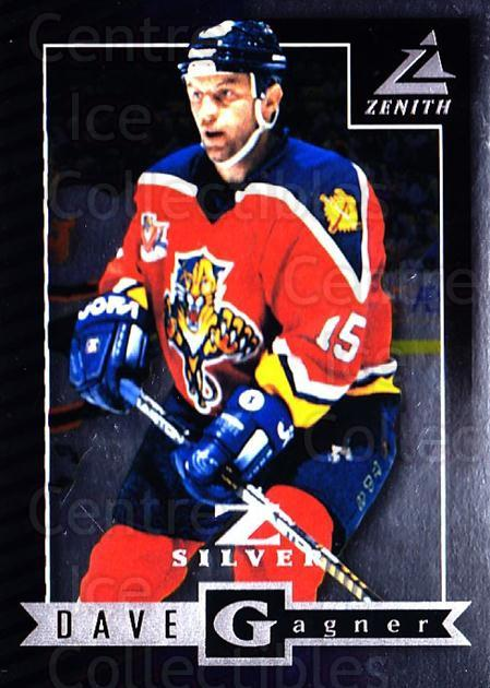 1997-98 Zenith Z-Silver #75 Dave Gagner<br/>3 In Stock - $3.00 each - <a href=https://centericecollectibles.foxycart.com/cart?name=1997-98%20Zenith%20Z-Silver%20%2375%20Dave%20Gagner...&quantity_max=3&price=$3.00&code=392394 class=foxycart> Buy it now! </a>