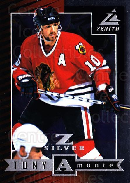 1997-98 Zenith Z-Silver #78 Tony Amonte<br/>3 In Stock - $3.00 each - <a href=https://centericecollectibles.foxycart.com/cart?name=1997-98%20Zenith%20Z-Silver%20%2378%20Tony%20Amonte...&quantity_max=3&price=$3.00&code=392397 class=foxycart> Buy it now! </a>
