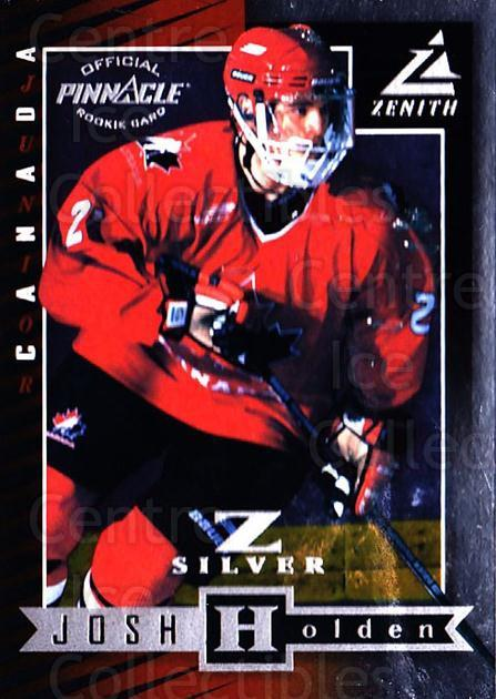 1997-98 Zenith Z-Silver #100 Josh Holden<br/>1 In Stock - $3.00 each - <a href=https://centericecollectibles.foxycart.com/cart?name=1997-98%20Zenith%20Z-Silver%20%23100%20Josh%20Holden...&quantity_max=1&price=$3.00&code=392419 class=foxycart> Buy it now! </a>