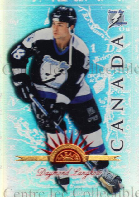 1997-98 Leaf International Universal Ice #103 Daymond Langkow<br/>2 In Stock - $5.00 each - <a href=https://centericecollectibles.foxycart.com/cart?name=1997-98%20Leaf%20International%20Universal%20Ice%20%23103%20Daymond%20Langkow...&quantity_max=2&price=$5.00&code=392525 class=foxycart> Buy it now! </a>