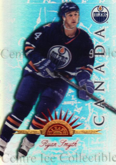 1997-98 Leaf International Universal Ice #49 Ryan Smyth<br/>1 In Stock - $5.00 each - <a href=https://centericecollectibles.foxycart.com/cart?name=1997-98%20Leaf%20International%20Universal%20Ice%20%2349%20Ryan%20Smyth...&quantity_max=1&price=$5.00&code=392611 class=foxycart> Buy it now! </a>