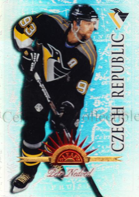 1997-98 Leaf International Universal Ice #51 Petr Nedved<br/>1 In Stock - $5.00 each - <a href=https://centericecollectibles.foxycart.com/cart?name=1997-98%20Leaf%20International%20Universal%20Ice%20%2351%20Petr%20Nedved...&quantity_max=1&price=$5.00&code=392614 class=foxycart> Buy it now! </a>