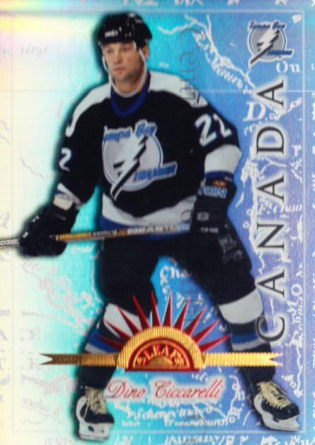 1997-98 Leaf International Universal Ice #83 Dino Ciccarelli<br/>2 In Stock - $5.00 each - <a href=https://centericecollectibles.foxycart.com/cart?name=1997-98%20Leaf%20International%20Universal%20Ice%20%2383%20Dino%20Ciccarelli...&quantity_max=2&price=$5.00&code=392647 class=foxycart> Buy it now! </a>