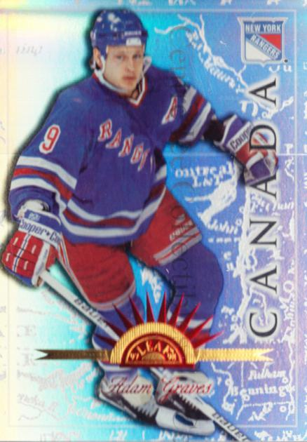 1997-98 Leaf International Universal Ice #89 Adam Graves<br/>2 In Stock - $5.00 each - <a href=https://centericecollectibles.foxycart.com/cart?name=1997-98%20Leaf%20International%20Universal%20Ice%20%2389%20Adam%20Graves...&quantity_max=2&price=$5.00&code=392653 class=foxycart> Buy it now! </a>