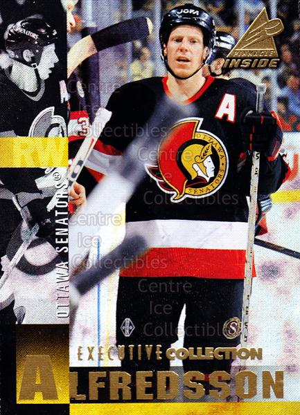 1997-98 Pinnacle Inside Executive Collection #26 Daniel Alfredsson<br/>2 In Stock - $5.00 each - <a href=https://centericecollectibles.foxycart.com/cart?name=1997-98%20Pinnacle%20Inside%20Executive%20Collection%20%2326%20Daniel%20Alfredss...&quantity_max=2&price=$5.00&code=392790 class=foxycart> Buy it now! </a>