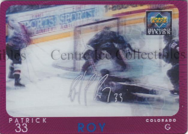 1997-98 Upper Deck Diamond Vision Signature Moves #2 Patrick Roy<br/>1 In Stock - $15.00 each - <a href=https://centericecollectibles.foxycart.com/cart?name=1997-98%20Upper%20Deck%20Diamond%20Vision%20Signature%20Moves%20%232%20Patrick%20Roy...&price=$15.00&code=393151 class=foxycart> Buy it now! </a>