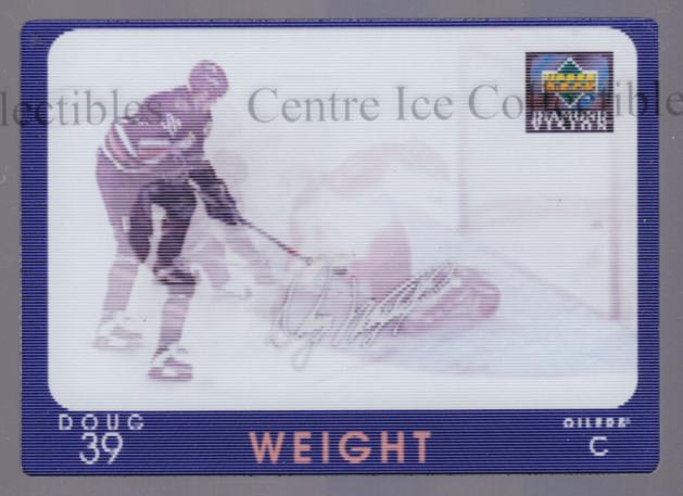 1997-98 Upper Deck Diamond Vision Signature Moves #15 Doug Weight<br/>3 In Stock - $5.00 each - <a href=https://centericecollectibles.foxycart.com/cart?name=1997-98%20Upper%20Deck%20Diamond%20Vision%20Signature%20Moves%20%2315%20Doug%20Weight...&quantity_max=3&price=$5.00&code=393164 class=foxycart> Buy it now! </a>