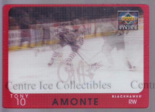 1997-98 Upper Deck Diamond Vision Signature Moves #19 Tony Amonte<br/>4 In Stock - $5.00 each - <a href=https://centericecollectibles.foxycart.com/cart?name=1997-98%20Upper%20Deck%20Diamond%20Vision%20Signature%20Moves%20%2319%20Tony%20Amonte...&quantity_max=4&price=$5.00&code=393168 class=foxycart> Buy it now! </a>