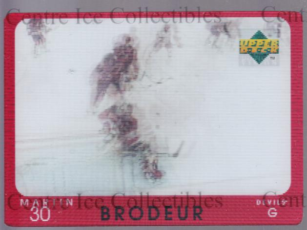 1997-98 Upper Deck Diamond Vision #5 Martin Brodeur<br/>1 In Stock - $5.00 each - <a href=https://centericecollectibles.foxycart.com/cart?name=1997-98%20Upper%20Deck%20Diamond%20Vision%20%235%20Martin%20Brodeur...&price=$5.00&code=393179 class=foxycart> Buy it now! </a>