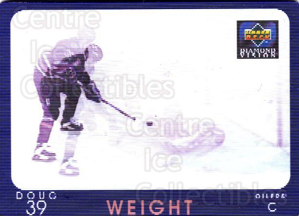 1997-98 Upper Deck Diamond Vision #15 Doug Weight<br/>2 In Stock - $3.00 each - <a href=https://centericecollectibles.foxycart.com/cart?name=1997-98%20Upper%20Deck%20Diamond%20Vision%20%2315%20Doug%20Weight...&quantity_max=2&price=$3.00&code=393189 class=foxycart> Buy it now! </a>