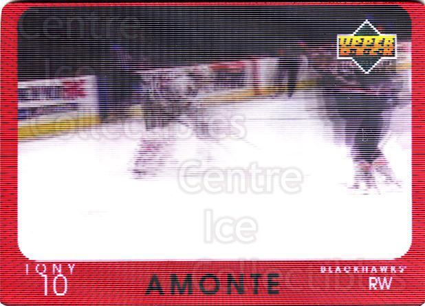 1997-98 Upper Deck Diamond Vision #19 Tony Amonte<br/>3 In Stock - $3.00 each - <a href=https://centericecollectibles.foxycart.com/cart?name=1997-98%20Upper%20Deck%20Diamond%20Vision%20%2319%20Tony%20Amonte...&quantity_max=3&price=$3.00&code=393193 class=foxycart> Buy it now! </a>