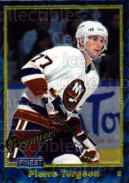 1993-94 Topps Premier Finest #7 Pierre Turgeon<br/>22 In Stock - $2.00 each - <a href=https://centericecollectibles.foxycart.com/cart?name=1993-94%20Topps%20Premier%20Finest%20%237%20Pierre%20Turgeon...&quantity_max=22&price=$2.00&code=3935 class=foxycart> Buy it now! </a>