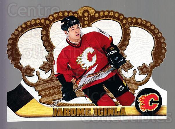 1997-98 Crown Royale #19 Jarome Iginla<br/>2 In Stock - $2.00 each - <a href=https://centericecollectibles.foxycart.com/cart?name=1997-98%20Crown%20Royale%20%2319%20Jarome%20Iginla...&quantity_max=2&price=$2.00&code=393951 class=foxycart> Buy it now! </a>