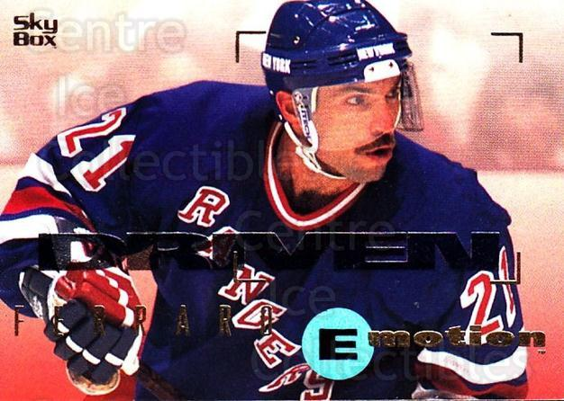 1995-96 Emotion #111 Ray Ferraro<br/>6 In Stock - $1.00 each - <a href=https://centericecollectibles.foxycart.com/cart?name=1995-96%20Emotion%20%23111%20Ray%20Ferraro...&quantity_max=6&price=$1.00&code=39407 class=foxycart> Buy it now! </a>