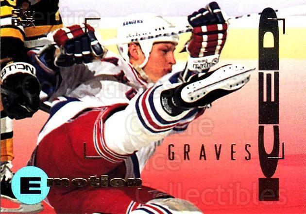 1995-96 Emotion #112 Adam Graves<br/>6 In Stock - $1.00 each - <a href=https://centericecollectibles.foxycart.com/cart?name=1995-96%20Emotion%20%23112%20Adam%20Graves...&quantity_max=6&price=$1.00&code=39408 class=foxycart> Buy it now! </a>