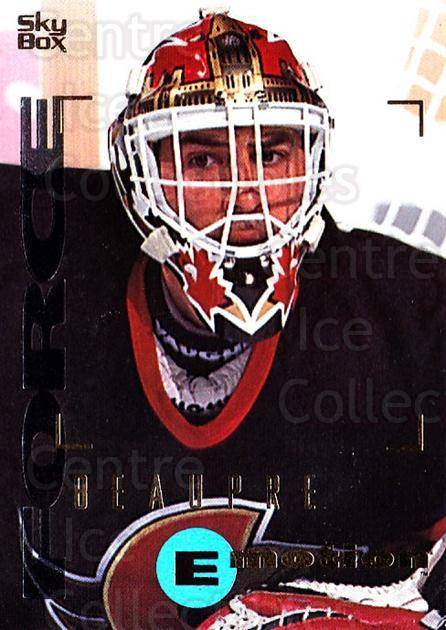 1995-96 Emotion #121 Don Beaupre<br/>4 In Stock - $1.00 each - <a href=https://centericecollectibles.foxycart.com/cart?name=1995-96%20Emotion%20%23121%20Don%20Beaupre...&quantity_max=4&price=$1.00&code=39418 class=foxycart> Buy it now! </a>