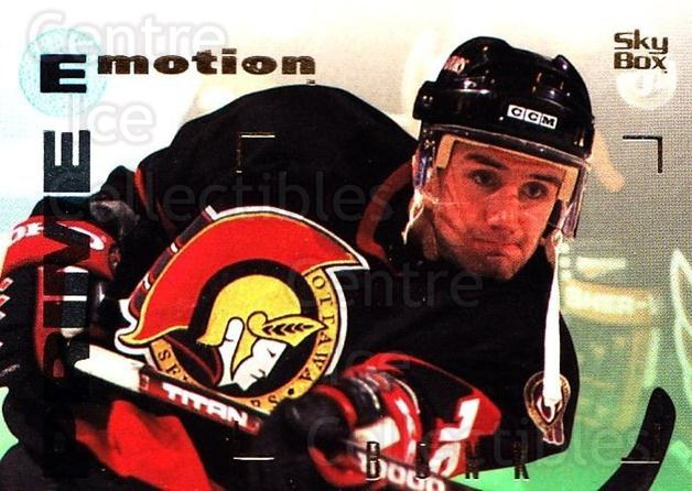 1995-96 Emotion #122 Radek Bonk<br/>5 In Stock - $1.00 each - <a href=https://centericecollectibles.foxycart.com/cart?name=1995-96%20Emotion%20%23122%20Radek%20Bonk...&quantity_max=5&price=$1.00&code=39419 class=foxycart> Buy it now! </a>