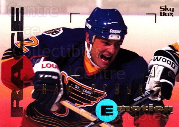 1995-96 Emotion #147 Dale Hawerchuk<br/>6 In Stock - $1.00 each - <a href=https://centericecollectibles.foxycart.com/cart?name=1995-96%20Emotion%20%23147%20Dale%20Hawerchuk...&quantity_max=6&price=$1.00&code=39443 class=foxycart> Buy it now! </a>