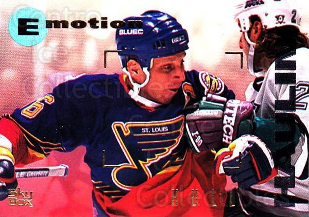1995-96 Emotion #148 Brett Hull<br/>6 In Stock - $2.00 each - <a href=https://centericecollectibles.foxycart.com/cart?name=1995-96%20Emotion%20%23148%20Brett%20Hull...&quantity_max=6&price=$2.00&code=39444 class=foxycart> Buy it now! </a>
