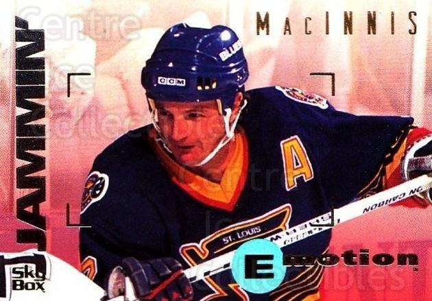 1995-96 Emotion #150 Al MacInnis<br/>5 In Stock - $1.00 each - <a href=https://centericecollectibles.foxycart.com/cart?name=1995-96%20Emotion%20%23150%20Al%20MacInnis...&quantity_max=5&price=$1.00&code=39447 class=foxycart> Buy it now! </a>