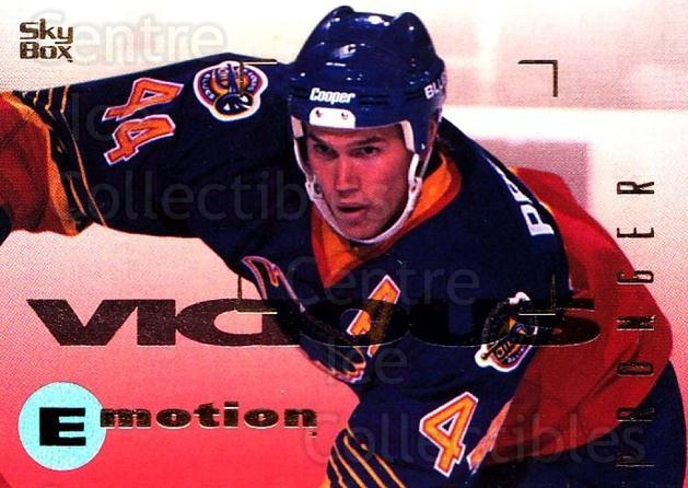 1995-96 Emotion #151 Chris Pronger<br/>6 In Stock - $1.00 each - <a href=https://centericecollectibles.foxycart.com/cart?name=1995-96%20Emotion%20%23151%20Chris%20Pronger...&quantity_max=6&price=$1.00&code=39448 class=foxycart> Buy it now! </a>