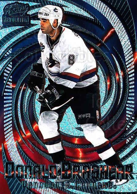 1997-98 Revolution Emerald #138 Donald Brashear<br/>1 In Stock - $3.00 each - <a href=https://centericecollectibles.foxycart.com/cart?name=1997-98%20Revolution%20Emerald%20%23138%20Donald%20Brashear...&quantity_max=1&price=$3.00&code=394591 class=foxycart> Buy it now! </a>