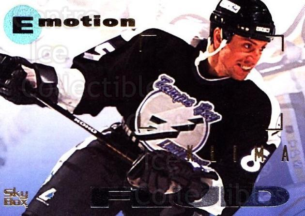 1995-96 Emotion #165 Petr Klima<br/>6 In Stock - $1.00 each - <a href=https://centericecollectibles.foxycart.com/cart?name=1995-96%20Emotion%20%23165%20Petr%20Klima...&quantity_max=6&price=$1.00&code=39462 class=foxycart> Buy it now! </a>