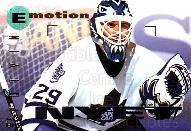 1995-96 Emotion #174 Felix Potvin<br/>3 In Stock - $1.00 each - <a href=https://centericecollectibles.foxycart.com/cart?name=1995-96%20Emotion%20%23174%20Felix%20Potvin...&quantity_max=3&price=$1.00&code=39472 class=foxycart> Buy it now! </a>
