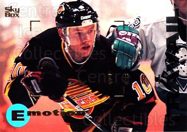 1995-96 Emotion #178 Pavel Bure<br/>4 In Stock - $1.00 each - <a href=https://centericecollectibles.foxycart.com/cart?name=1995-96%20Emotion%20%23178%20Pavel%20Bure...&quantity_max=4&price=$1.00&code=39476 class=foxycart> Buy it now! </a>