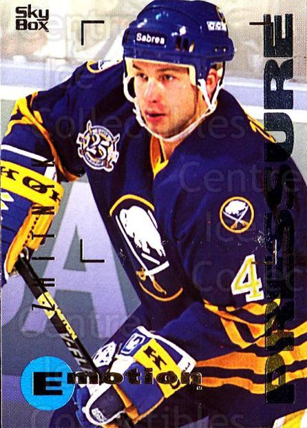 1995-96 Emotion #19 Alexei Zhitnik<br/>6 In Stock - $1.00 each - <a href=https://centericecollectibles.foxycart.com/cart?name=1995-96%20Emotion%20%2319%20Alexei%20Zhitnik...&quantity_max=6&price=$1.00&code=39489 class=foxycart> Buy it now! </a>