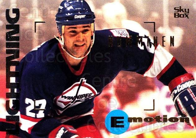 1995-96 Emotion #195 Teppo Numminen<br/>6 In Stock - $1.00 each - <a href=https://centericecollectibles.foxycart.com/cart?name=1995-96%20Emotion%20%23195%20Teppo%20Numminen...&quantity_max=6&price=$1.00&code=39495 class=foxycart> Buy it now! </a>