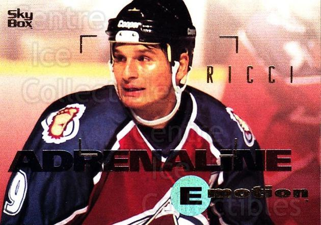1995-96 Emotion #41 Mike Ricci<br/>6 In Stock - $1.00 each - <a href=https://centericecollectibles.foxycart.com/cart?name=1995-96%20Emotion%20%2341%20Mike%20Ricci...&quantity_max=6&price=$1.00&code=39522 class=foxycart> Buy it now! </a>