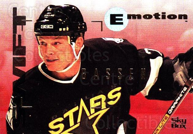 1995-96 Emotion #44 Bob Bassen<br/>5 In Stock - $1.00 each - <a href=https://centericecollectibles.foxycart.com/cart?name=1995-96%20Emotion%20%2344%20Bob%20Bassen...&quantity_max=5&price=$1.00&code=39525 class=foxycart> Buy it now! </a>