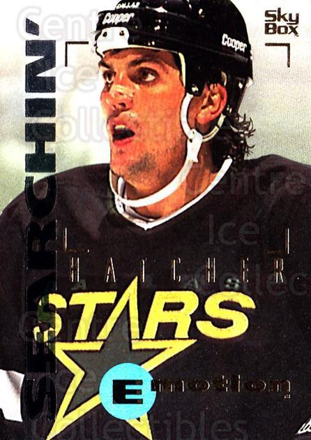 1995-96 Emotion #48 Kevin Hatcher<br/>5 In Stock - $1.00 each - <a href=https://centericecollectibles.foxycart.com/cart?name=1995-96%20Emotion%20%2348%20Kevin%20Hatcher...&quantity_max=5&price=$1.00&code=39529 class=foxycart> Buy it now! </a>