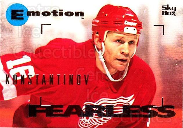 1995-96 Emotion #54 Vladimir Konstantinov<br/>4 In Stock - $1.00 each - <a href=https://centericecollectibles.foxycart.com/cart?name=1995-96%20Emotion%20%2354%20Vladimir%20Konsta...&quantity_max=4&price=$1.00&code=39535 class=foxycart> Buy it now! </a>
