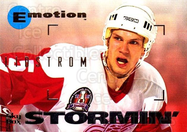 1995-96 Emotion #56 Nicklas Lidstrom<br/>5 In Stock - $1.00 each - <a href=https://centericecollectibles.foxycart.com/cart?name=1995-96%20Emotion%20%2356%20Nicklas%20Lidstro...&quantity_max=5&price=$1.00&code=39536 class=foxycart> Buy it now! </a>