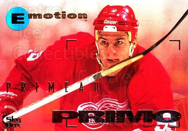 1995-96 Emotion #57 Keith Primeau<br/>5 In Stock - $1.00 each - <a href=https://centericecollectibles.foxycart.com/cart?name=1995-96%20Emotion%20%2357%20Keith%20Primeau...&quantity_max=5&price=$1.00&code=39537 class=foxycart> Buy it now! </a>