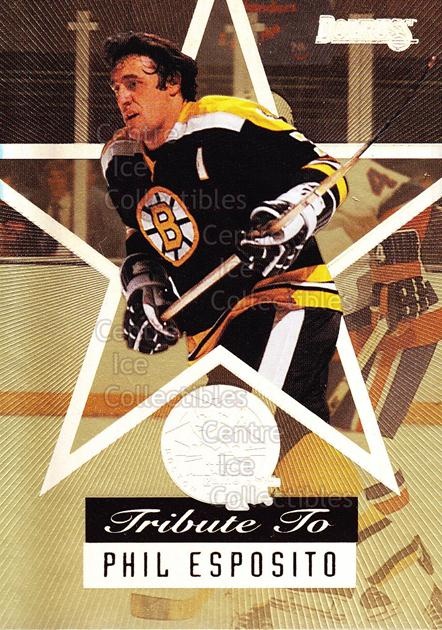 1995-96 Fanfest Phil Esposito #1 Phil Esposito<br/>2 In Stock - $3.00 each - <a href=https://centericecollectibles.foxycart.com/cart?name=1995-96%20Fanfest%20Phil%20Esposito%20%231%20Phil%20Esposito...&quantity_max=2&price=$3.00&code=39544 class=foxycart> Buy it now! </a>